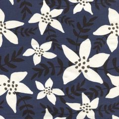 Jersey Aloha Blume - Dunkelblau