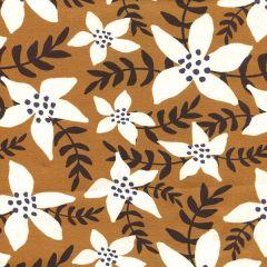 Jersey Aloha Blume - Ocker