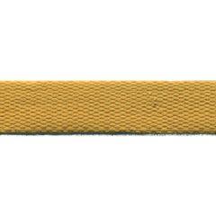Baumwoll Gurtband uni 24mm - senfgelb