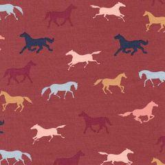 Bio Jersey Pferdekoppel - Ziegelrot