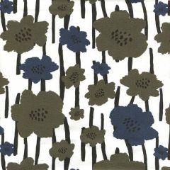 Jersey painted Garden - Olivgrün