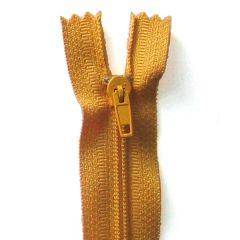 Reißverschluss 20cm - Goldgelb