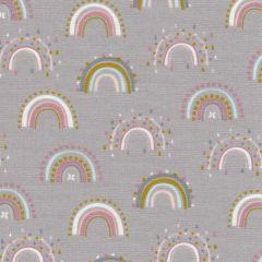 Soft Cotton Rainbow - Grau