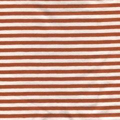 Jersey Spring Stripes - Cognac