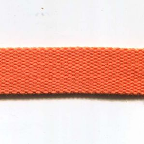 Gurtband uni 24mm - Orange