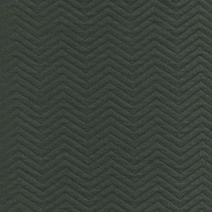 Organic Chevron Quilt - deep green