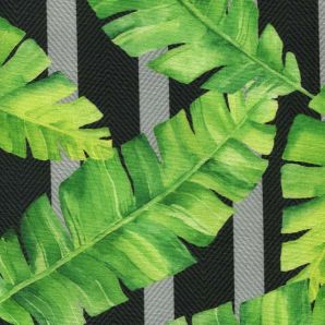 Deko Outdoor tropical Leaf Garden - Schwarz