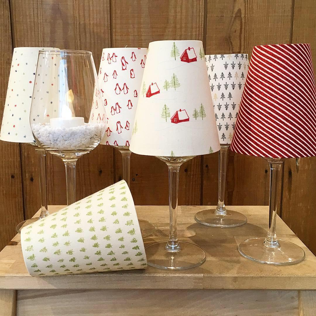 Lampenschirm für Weingläser