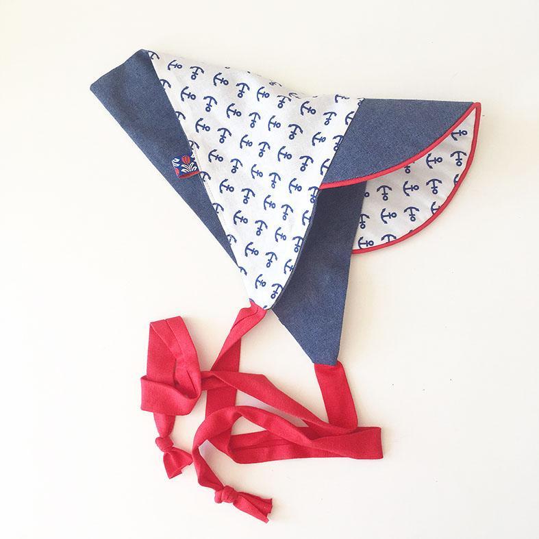 Süßes Kopftuch mit Schrim für Babys und Kinder
