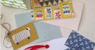 Karten & Schilder aus Stoff