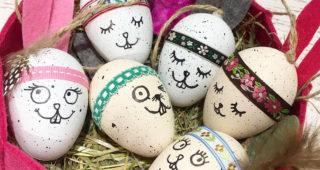 Witzige Hasen-Eier oder Eier-Hasen ?!